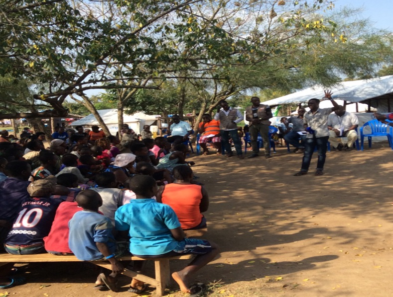 Community dialogue preparing for how to meet new vector borne diseases